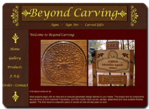 Big Dog Web Design :: Beyond Carving