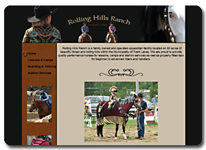 Big Dog Web Design :: Rolling Hills Ranch